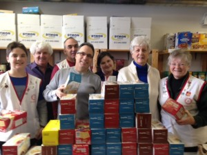 January 24th Rotary Day at the Stittsville Food Bank
